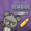 Teddy Beer Zombies Machine Gun